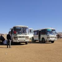 Le bus en Mongolie, une vraie aventure !