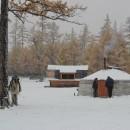 Randonnées autour du lac Khövsgöl: après la neige