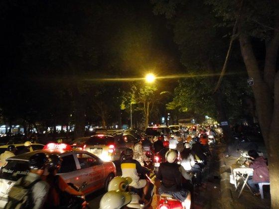 La circulation à Hanoï