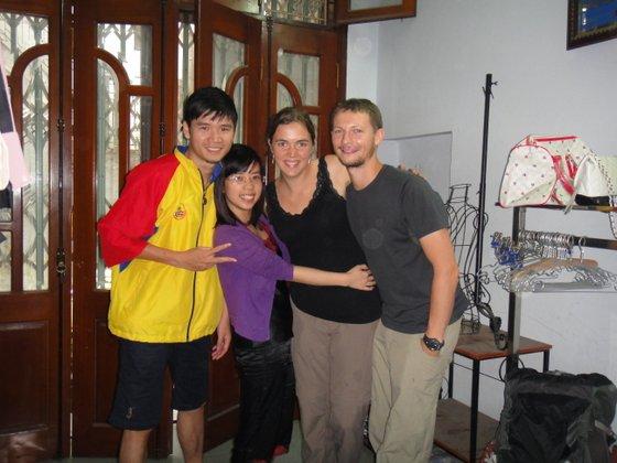 Linh, June, Méla & Flo