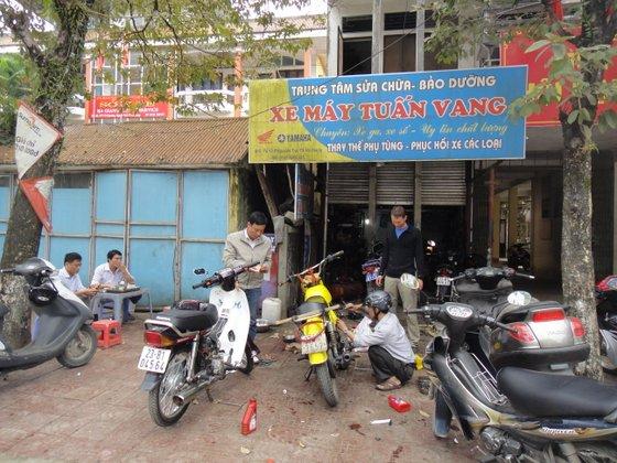 Le ènième garage visité au Vietnam