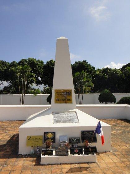 Monument aux morts en l'honneur des soldats français