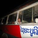 Retour glissant à Luang Prabang