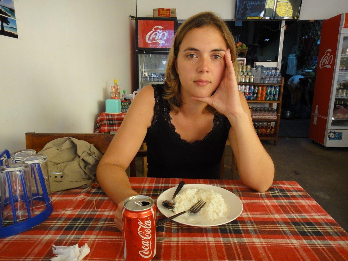 Riz blanc et Coca pour Méla