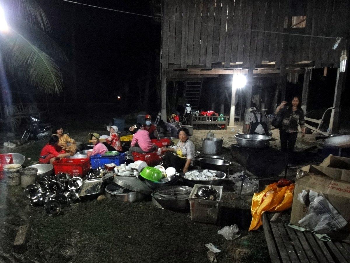 Coulisses du mariage au Cambodge