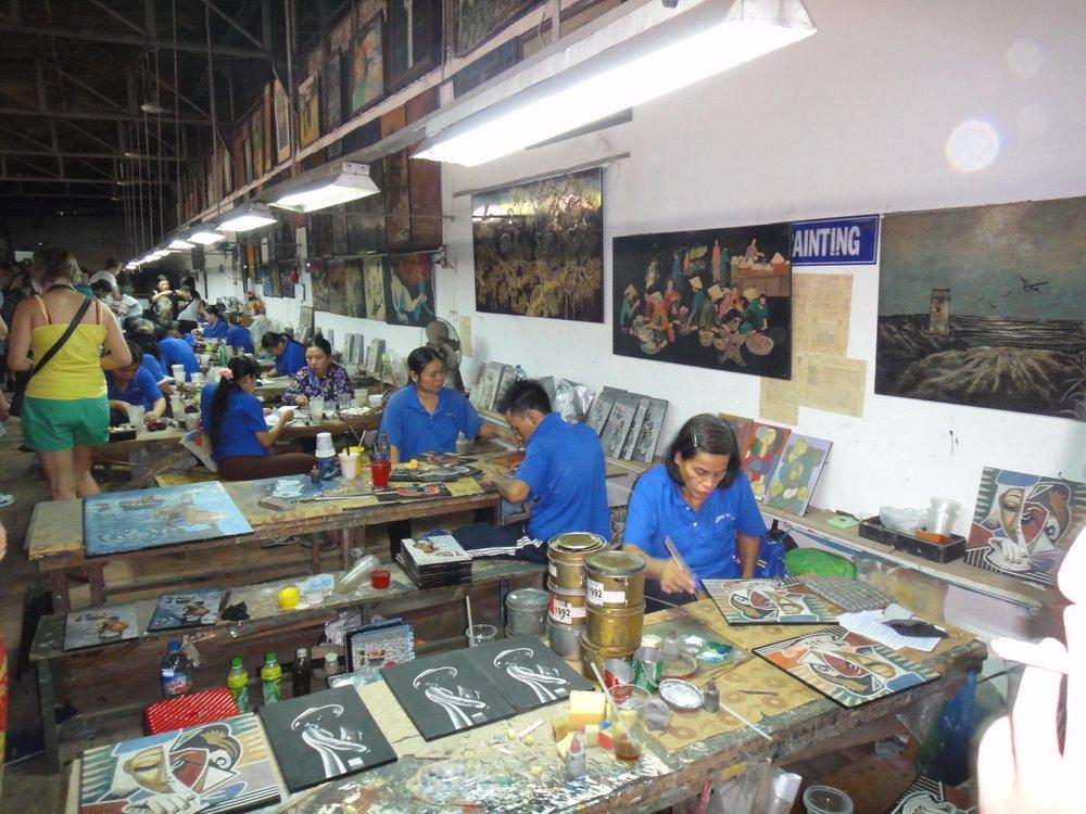 Atelier artisanal