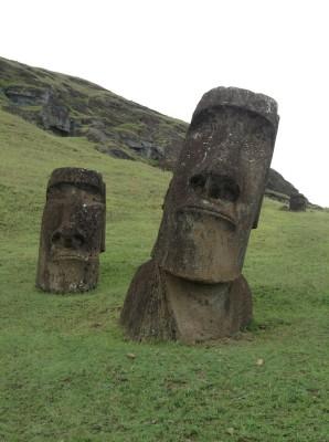 Moaï sans les yeux