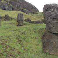 Les Moaï de la mystérieuse île de Pâques